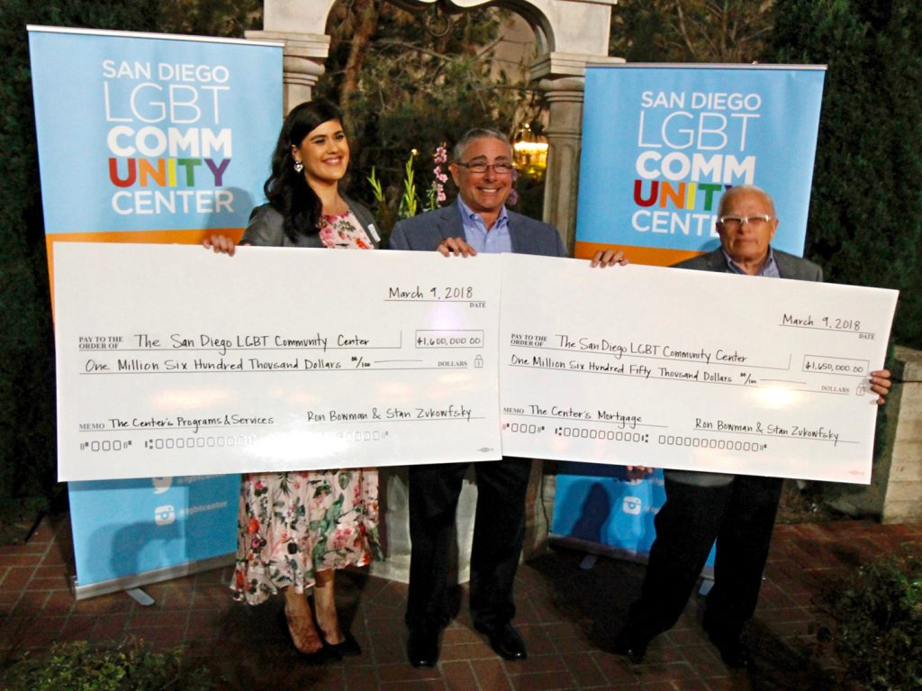 The Center reaches $2 million goal