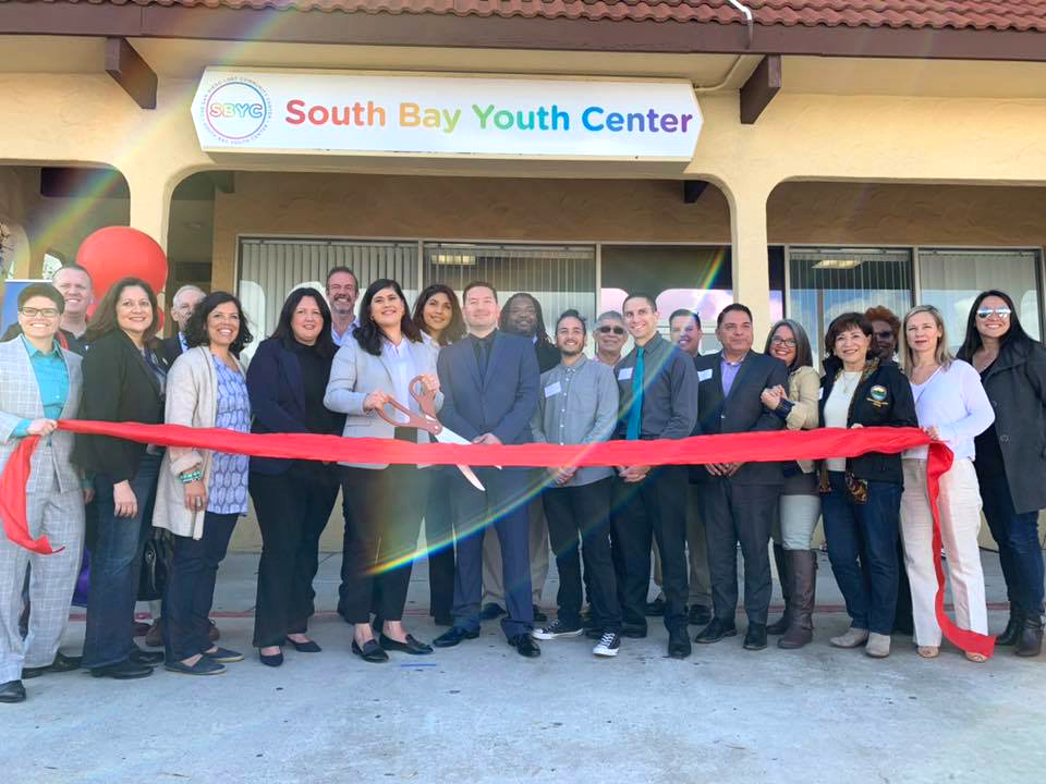 South Bay Youth Center ribbon cutting